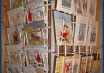 Kartenständer mit Grusskarten