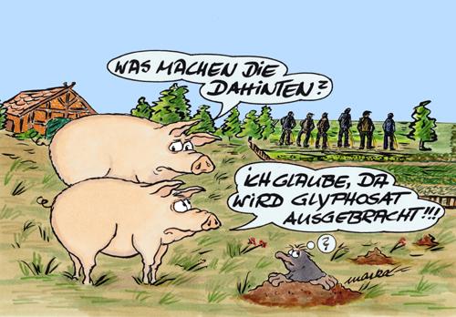Glyphosat, Tiere, Landwirtschaft, Düngen