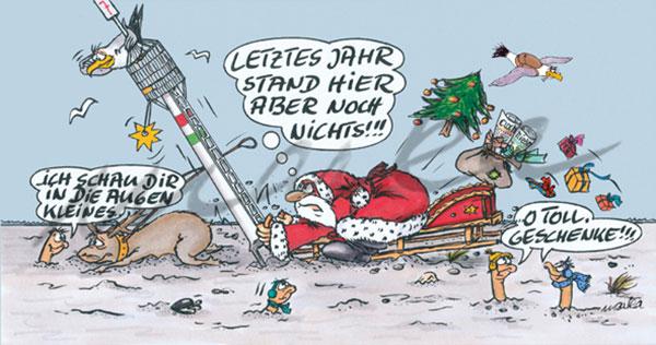 CN-Weihnachtskarambolage