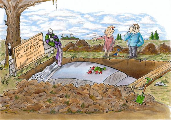 Cartoon_Autobegräbnis_Marka-Design