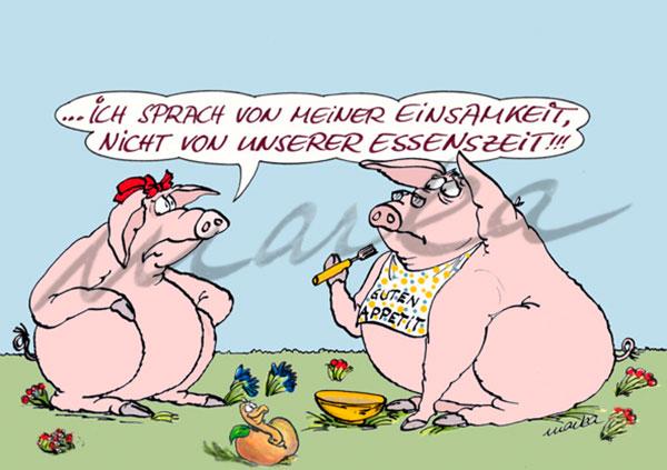 Cartoon_Essenzeit-vs-Einsamkeit_Marka-Design