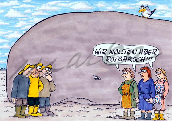 Cartoon_wir-wollten-Rotbarsch_Marka-Design