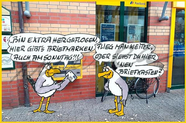 Cuxhaven-Cartoon_Ohne-Briefkasten_Marka-Design