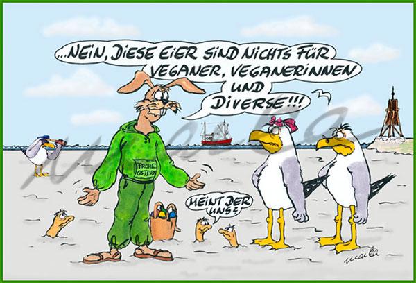 Cuxhaven-Cartoon_Ostern-2019_Marka-Design