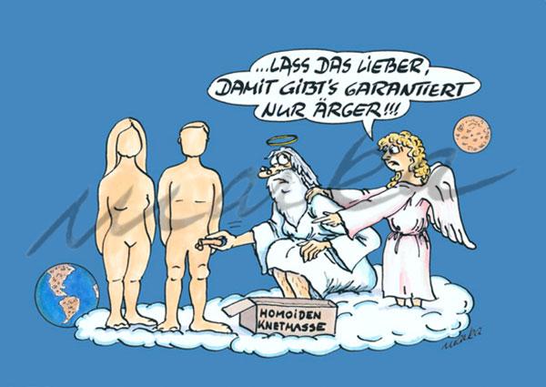 Karikatur_Homoiden-Knetmasse_Marka-Design