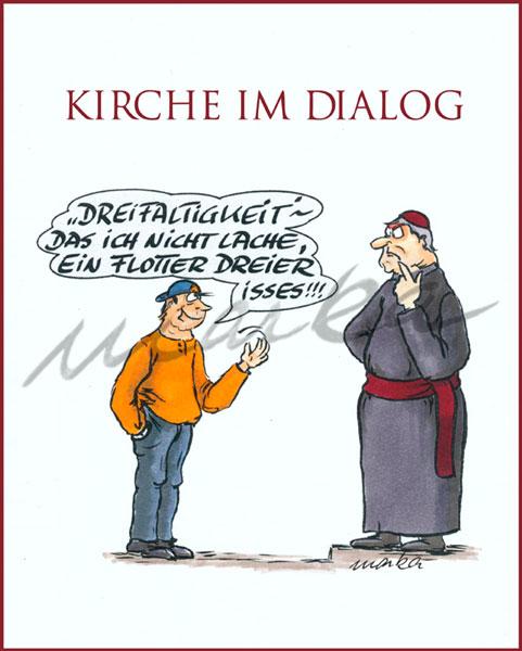 Karikatur_Kirche-im-Dialog_Marka-Design