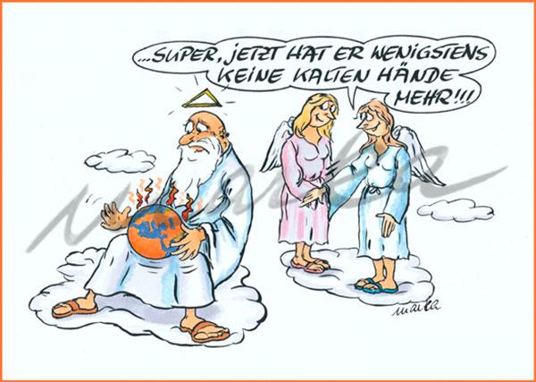 Karikatur_keine-kalten-Haende-mehr_Marka-Design
