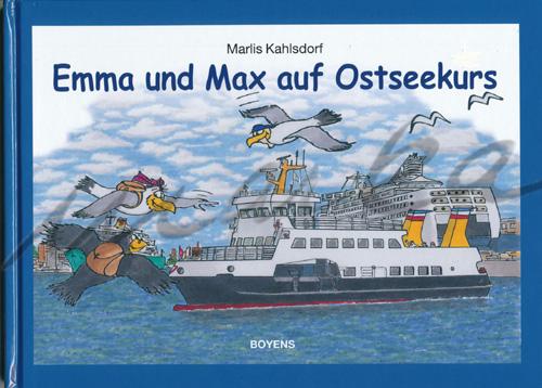 Auf Ostseekurs - Buchillustration von Marka-Design