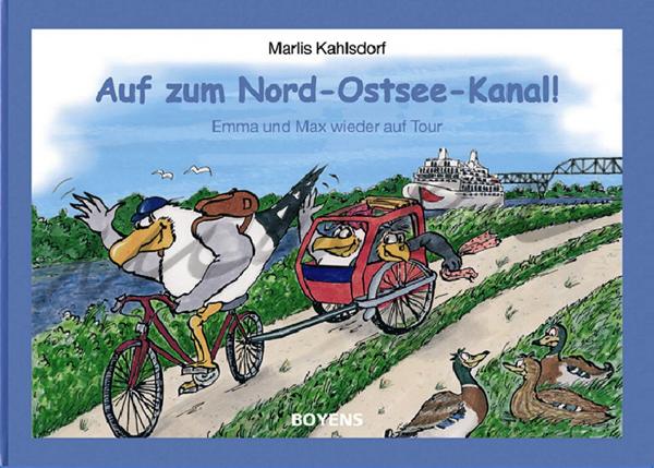 Nord-Ostsee-Kanal - Buchillustration von Marka-Design