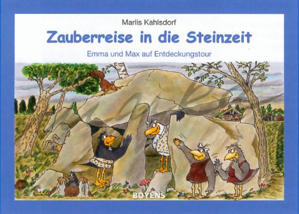 Steinzeit - - Buchillustration von Marka-Design