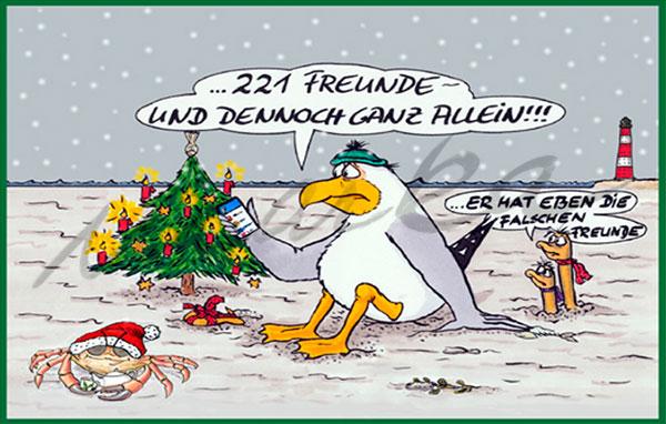 221-Freunde---Weihnachtscartoon-von-Marka-Design
