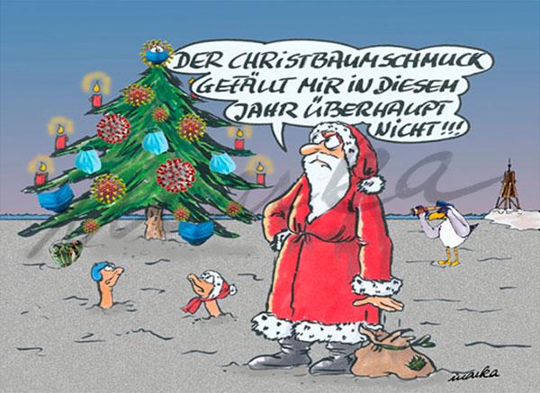 Christbaumschmuck---Weihnachtscartoon-von-Marka-Design